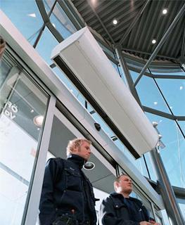 Как подобрать и купить тепловую завесу - эффективность использования воздушных тепловых завес.