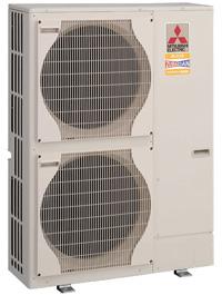 Кондиционеры, тепловые насосы Mitsubishi Electric для теплоснабжения квартиры, дома, коттеджа и офиса