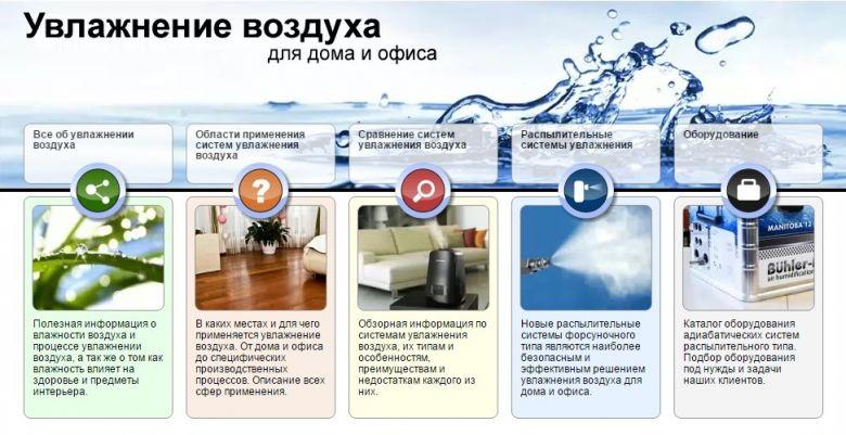 Чем увлажнять воздух в домашних условиях