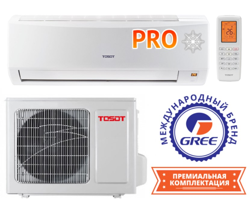 TOSOT серия North Inverter PRO